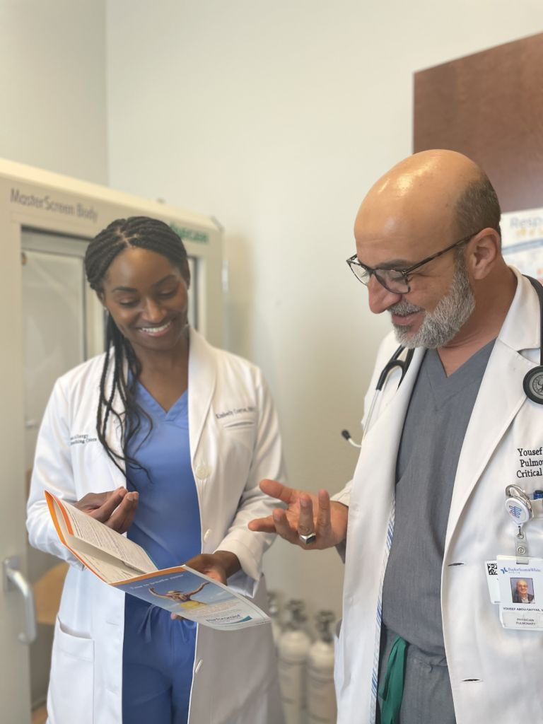 nurse and dr kayyas